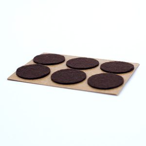 Medium Duty Brown Felt Pad