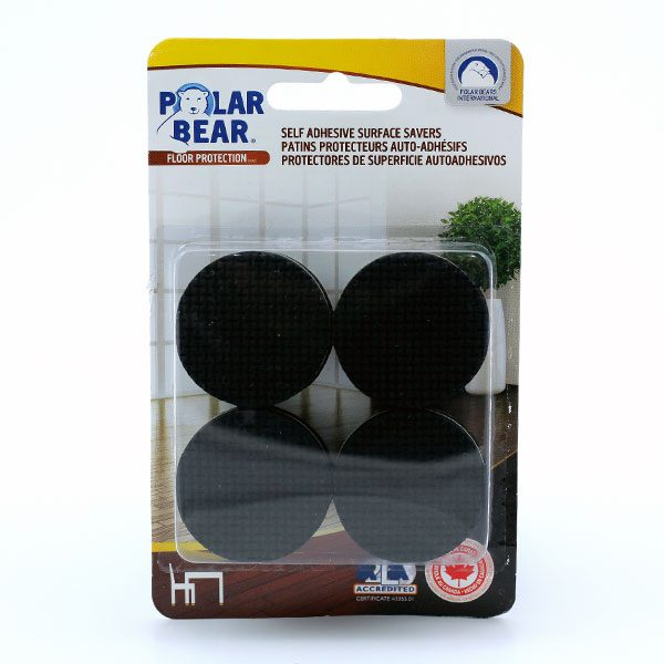 Self adhesive anti slip pads