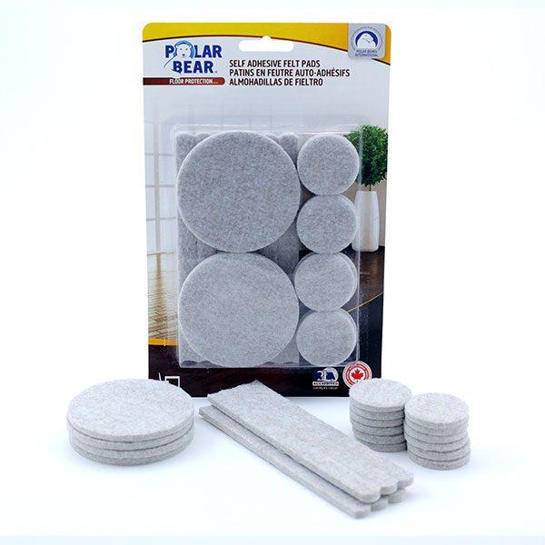 Self adhesive felt value kit