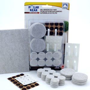 Self adhesive felt value kit