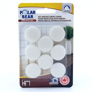 Self adhesive foam black and white discs