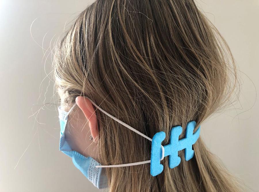 Polar 19 strap clip